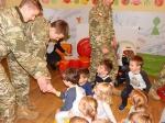 Przybyli ułani - spotkanie z uczniami szkoły wojskowej
